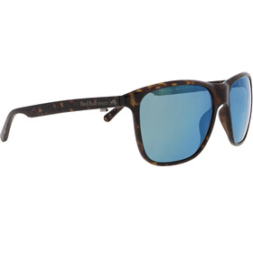 Red Bull SPECT Reach Sunglasses Men, shiny dark havanna/smoke-olive mirror